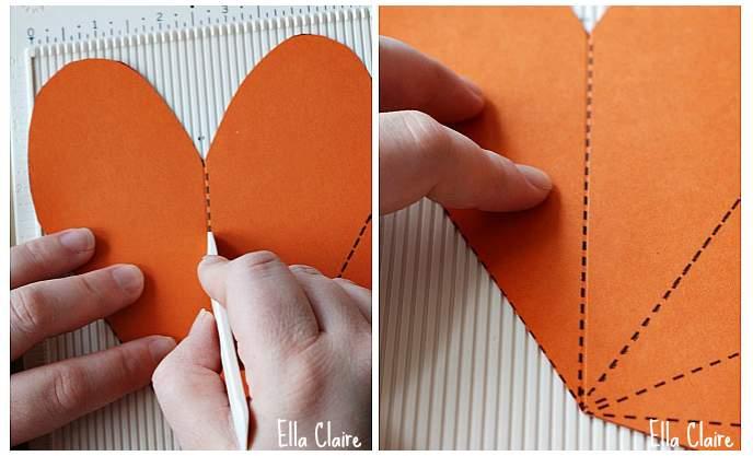 Lembrancinha de Páscoa - Caixa em forma de cenoura 03